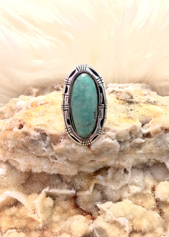 Pale Turquoise Ring