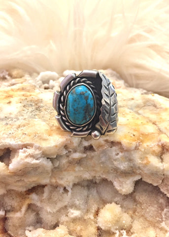 Turquoise Ghost Town Ring