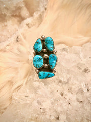 Kenneth Jones Turquoise Ring