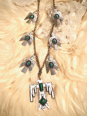 Thunderbird Statement Necklace