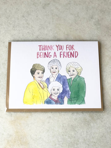 The Golden Girls Card