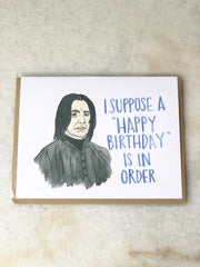 Snape Birthday