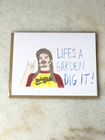 Joe Dirt Card