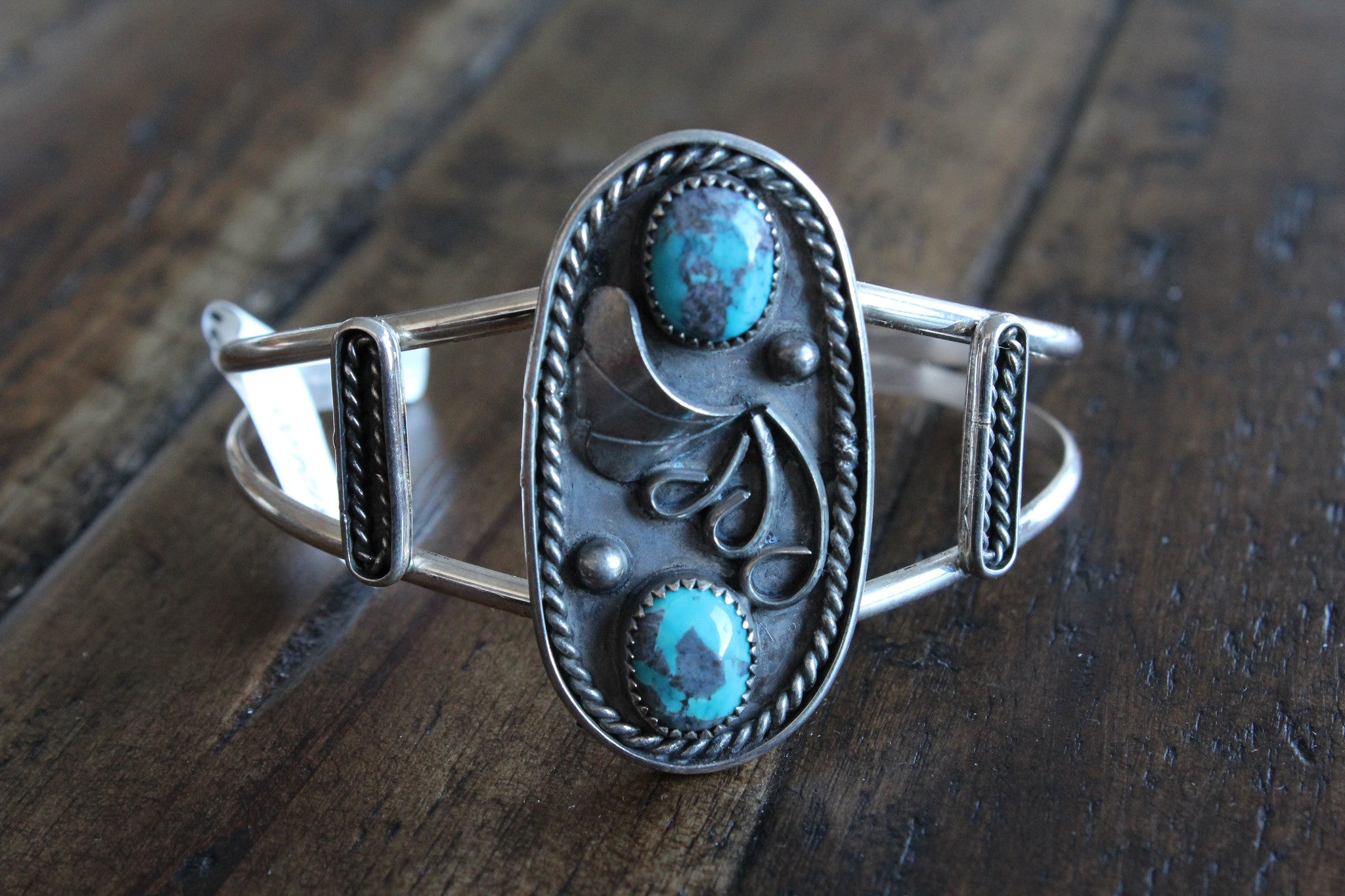 very photo by large navajo artist cuff indian bracelet jewelry tsinnie vintage product turquoise orville