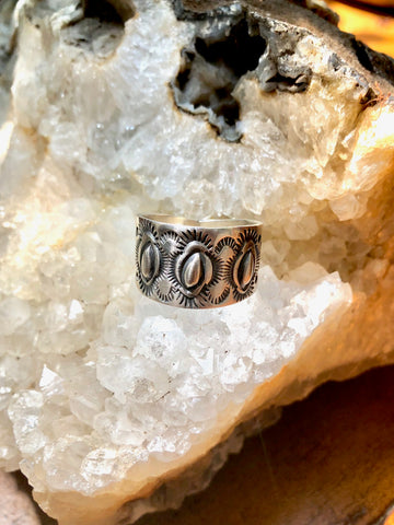 Stamped Sterling Band