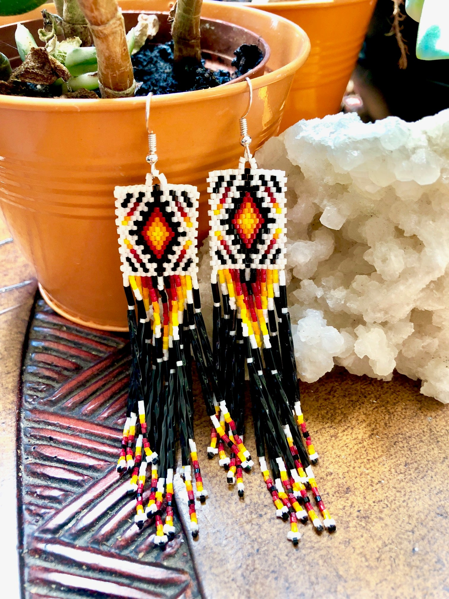 Dusk Fringe Earrings