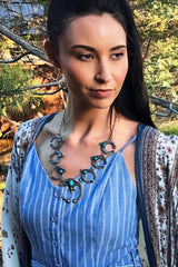 Tufa Cast Naja Necklace