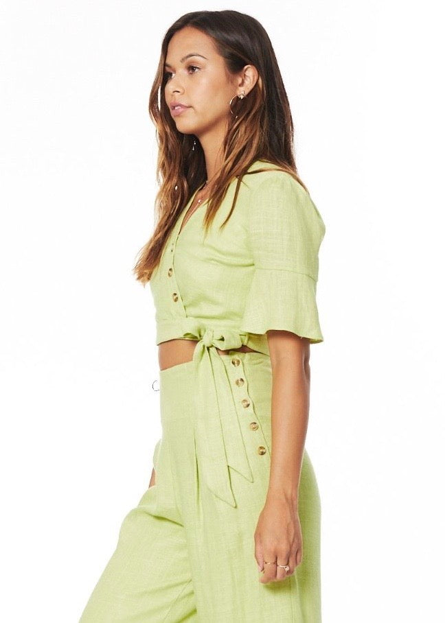 Lost + Wander Cactus Bloom Wrap Top