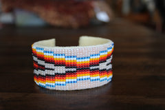 Navajo Beaded Wide Cuff