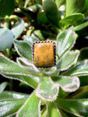 Jasper Cushion Ring
