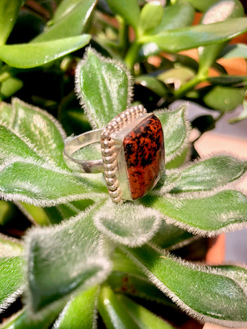Brecciated Jasper Ring