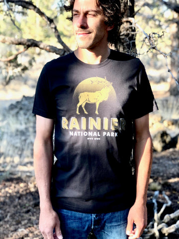 Parks Project Mount Rainier Elk Tee