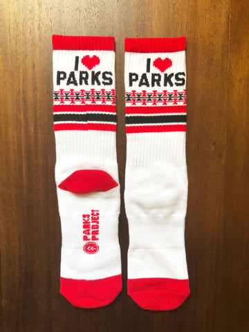 Parks Project Parks For Lovers Socks