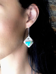 Alpenglow Turquoise Mountain Earrings