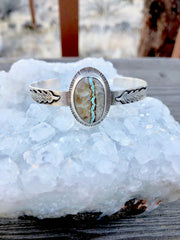 Alpenglow Royston Ribbon Feather Bracelet