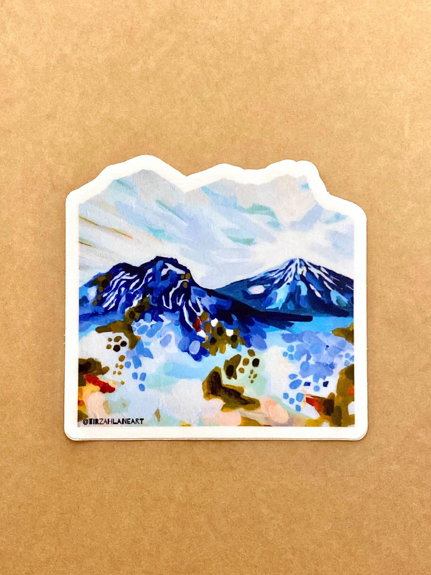 Mt. Bachelor Cascades Sticker