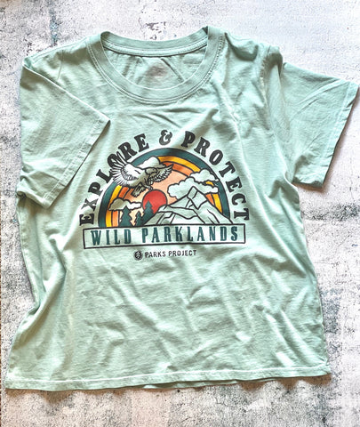 Parks Project Explore & Protect Wild Parklands Boxy Tee