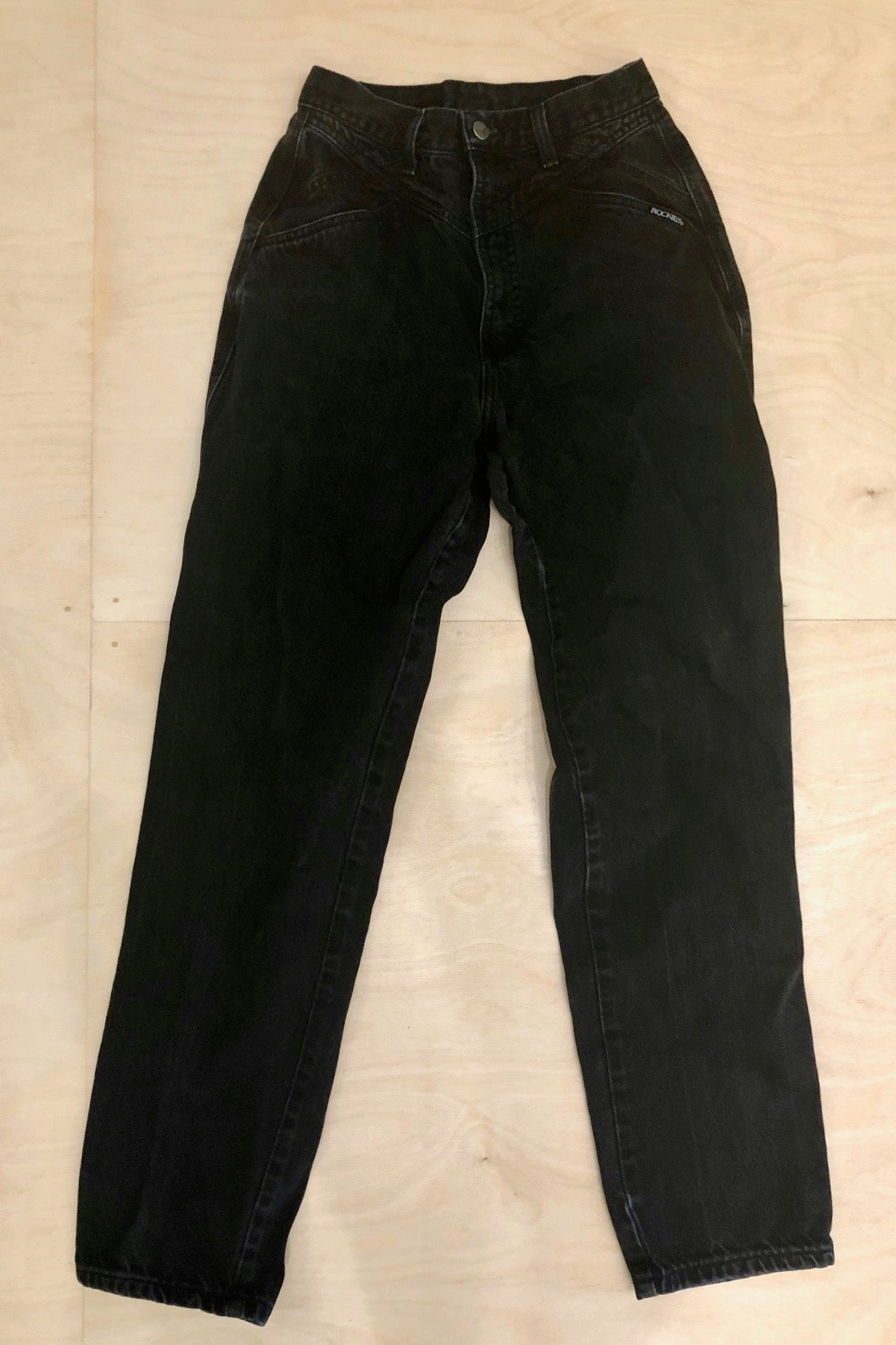 "Vintage Rockies Denim 25"" Waist"