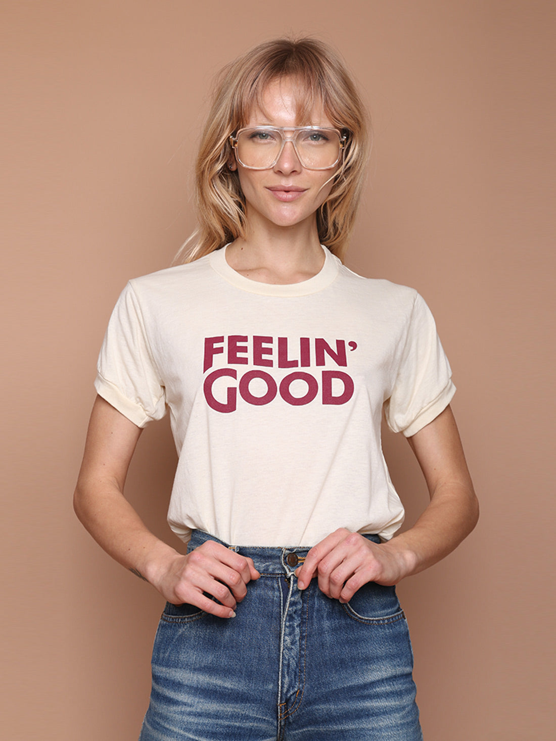 Camp Feelin' Good Ringer Tee