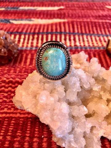 Men's Nevada Turquoise Ring