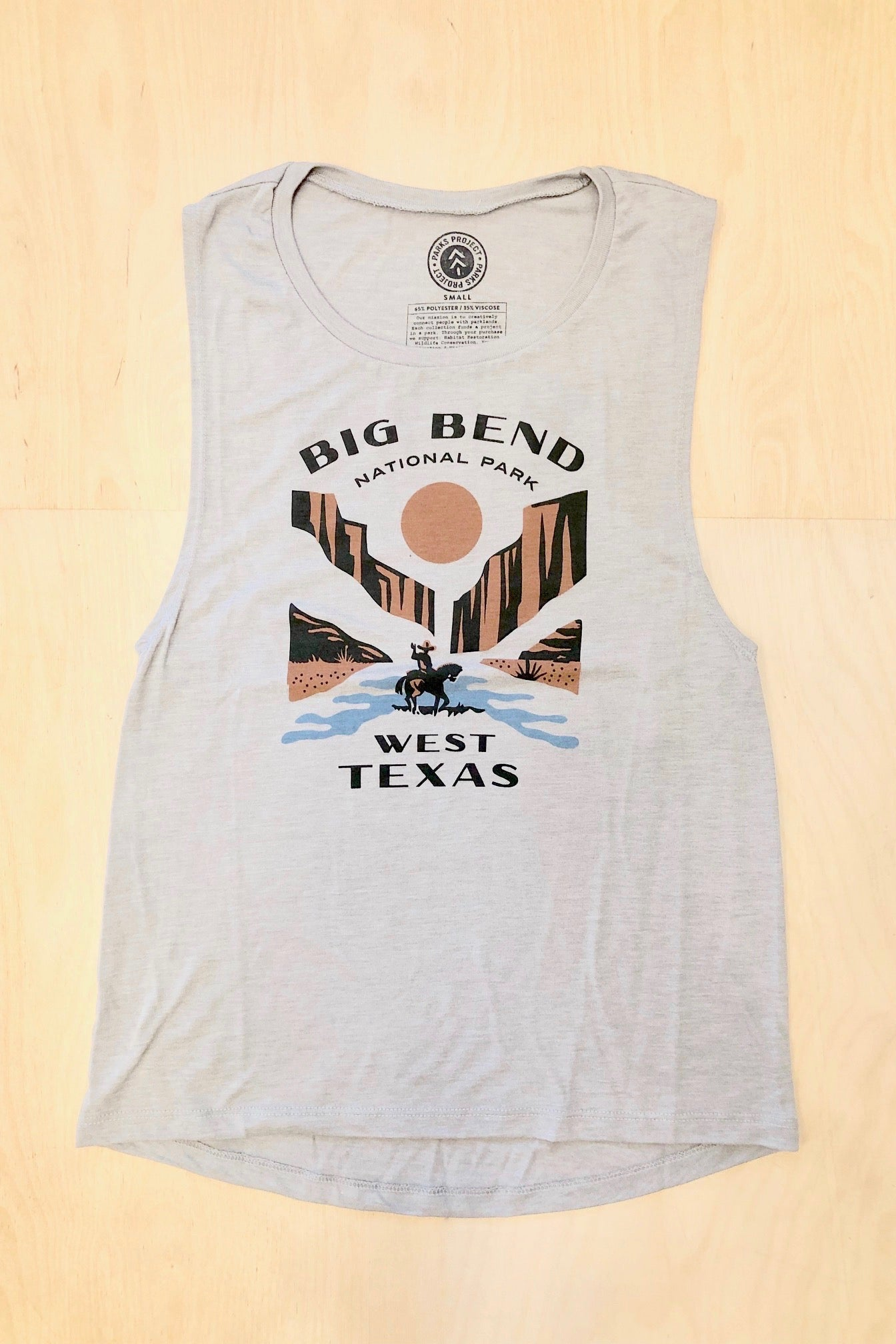 Parks Project Big Bend West Texas Tank