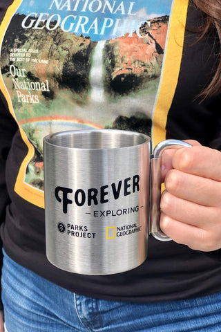 National Geographic X Parks Project Carabiner Mug
