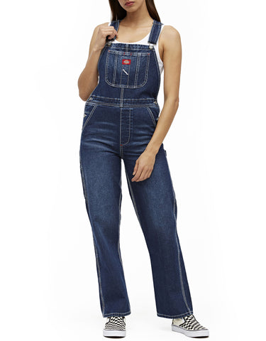 Dickies Girl Relaxed Denim Overalls
