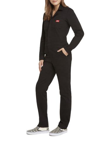 Dickies Girl Button Front Coveralls