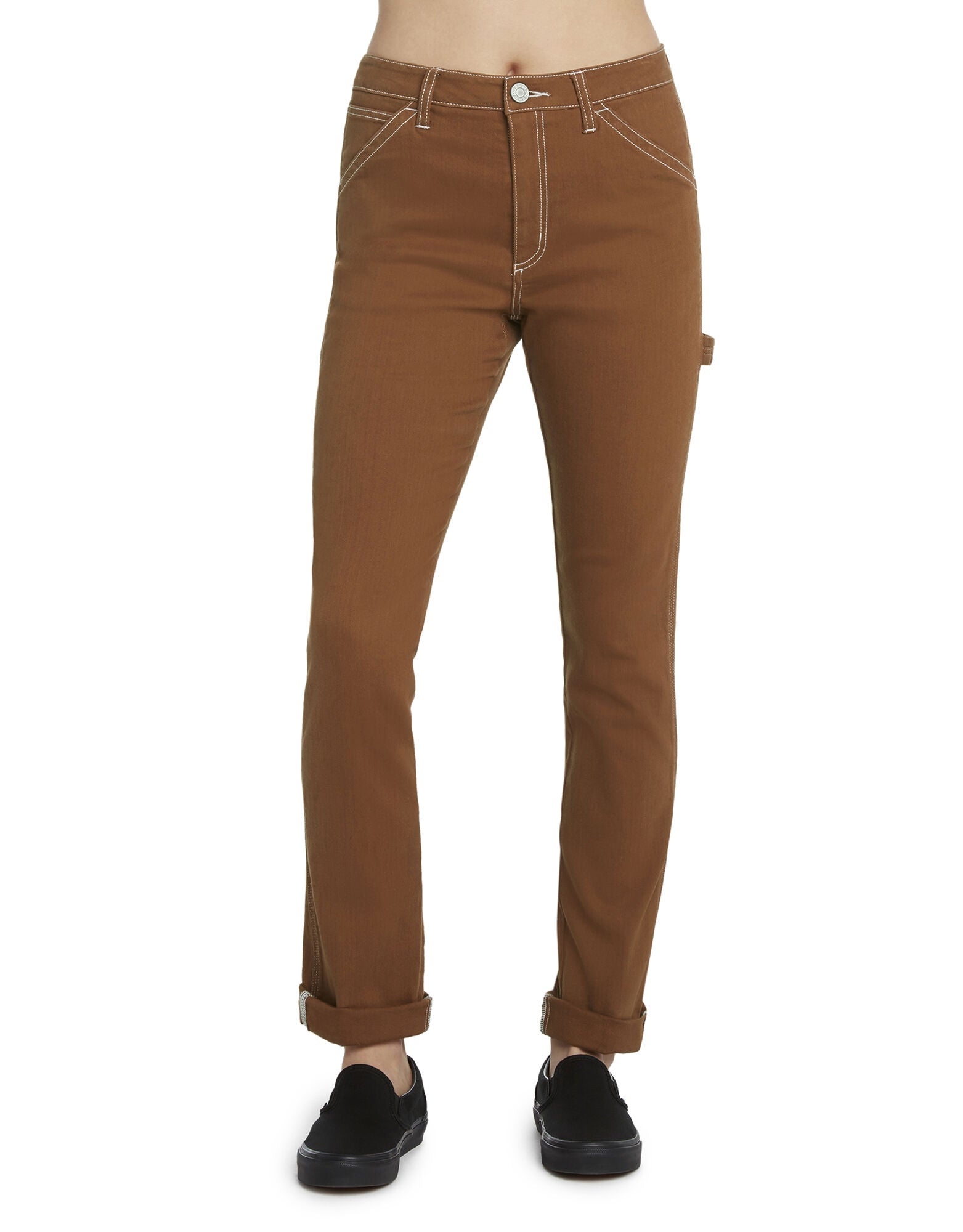 Dickies Girl Juniors' Slim Fit Carpenter Pants