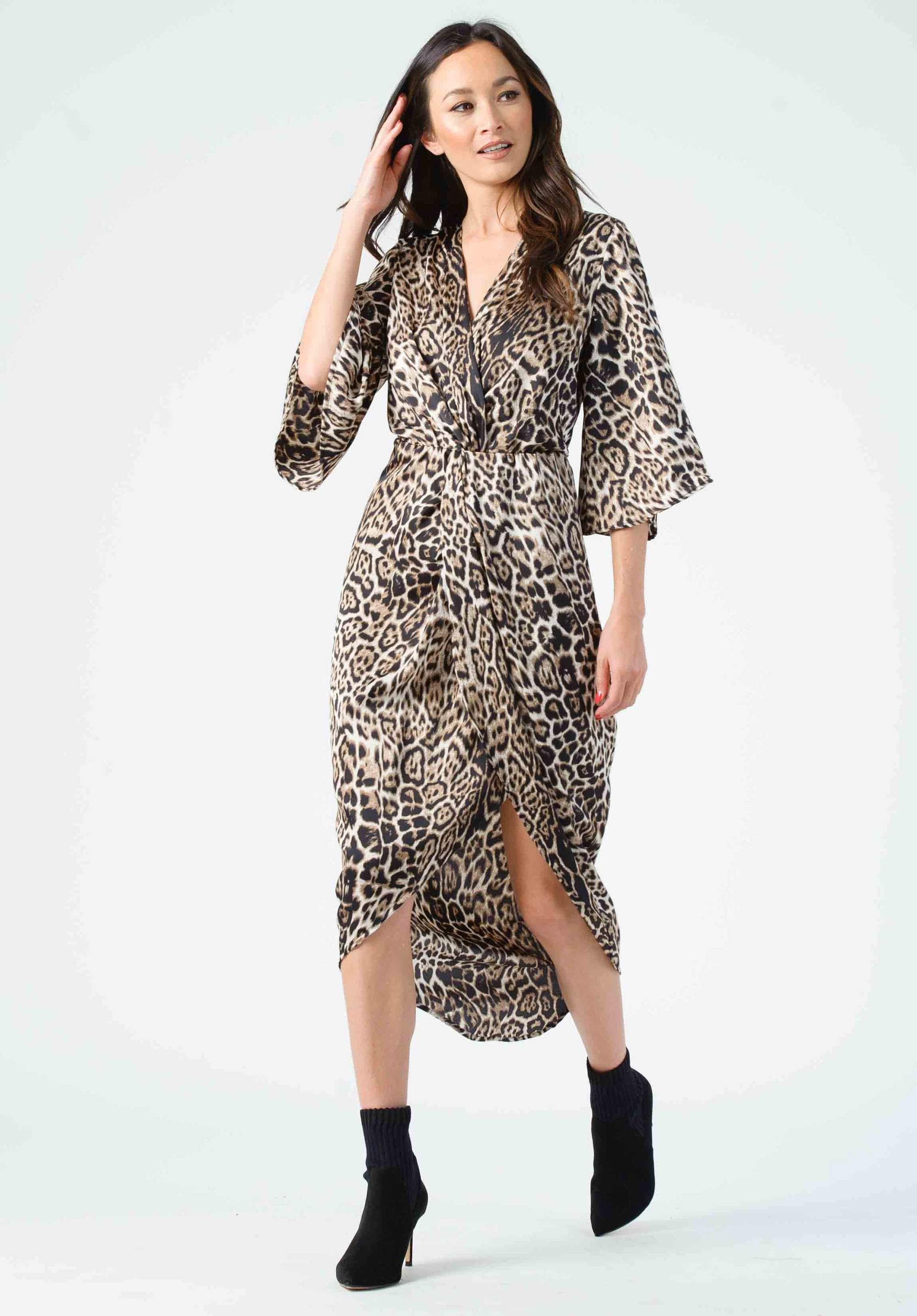 Lucca Harmony Leopard Dress