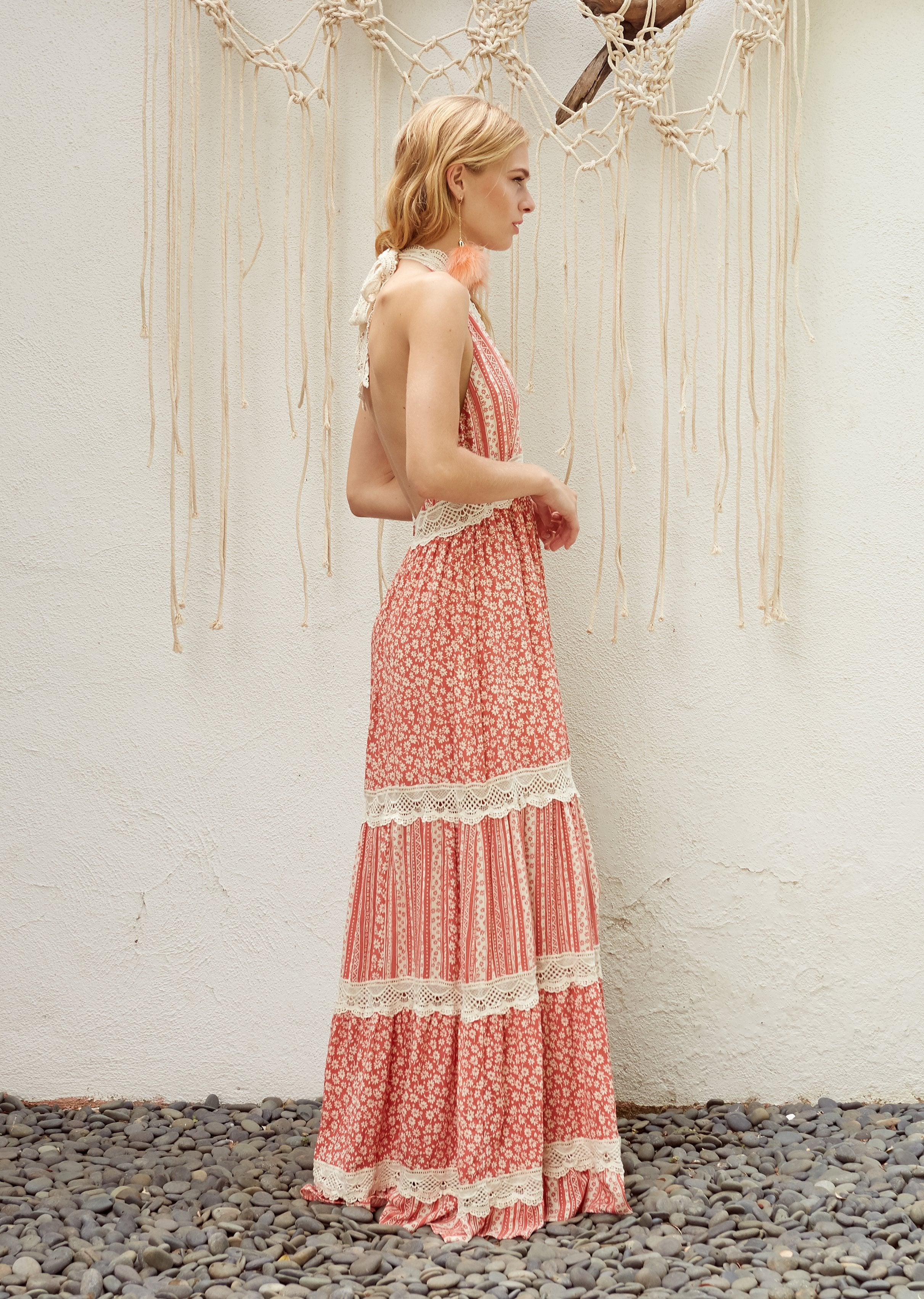 Lost + Wander Suns Out Maxi Dress