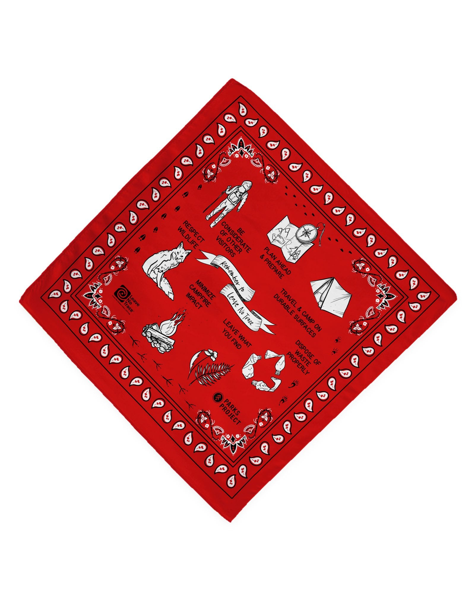Parks Project Leave No Trace Bandana