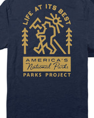 Parks Project Life At It's Best Pocket Tee