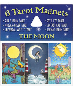 The Moon Tarot Magnets
