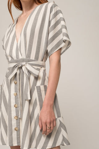 Moon River Striped Dress