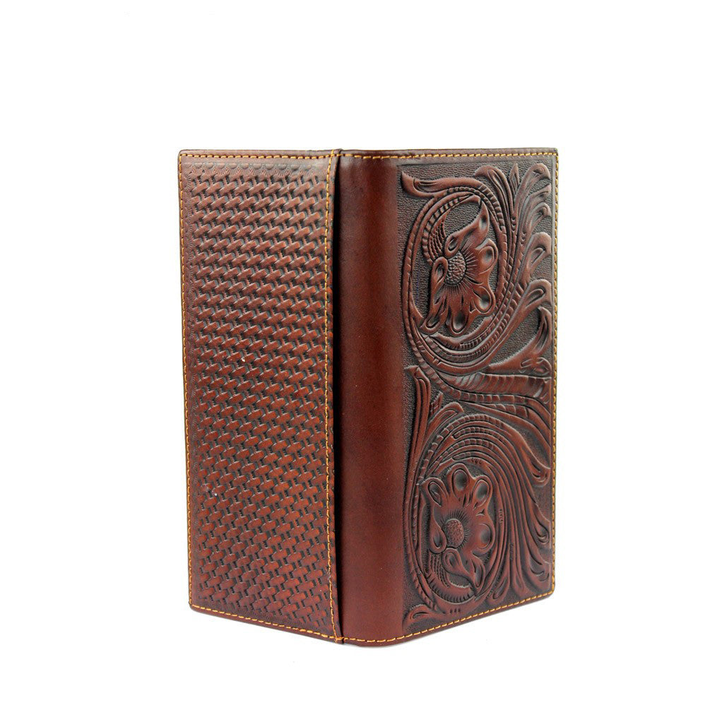 Montana West Tooled Leather Wallet