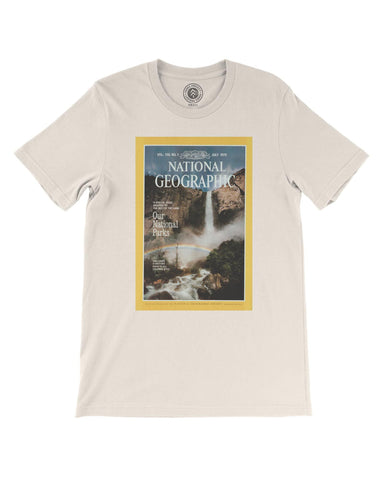 National Geographic X Parks Project Vintage Magazine Cover Tee