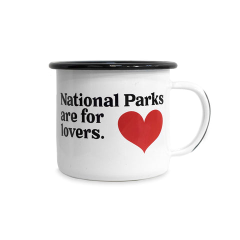 Parks Project Parks for Lovers Enamel Mug