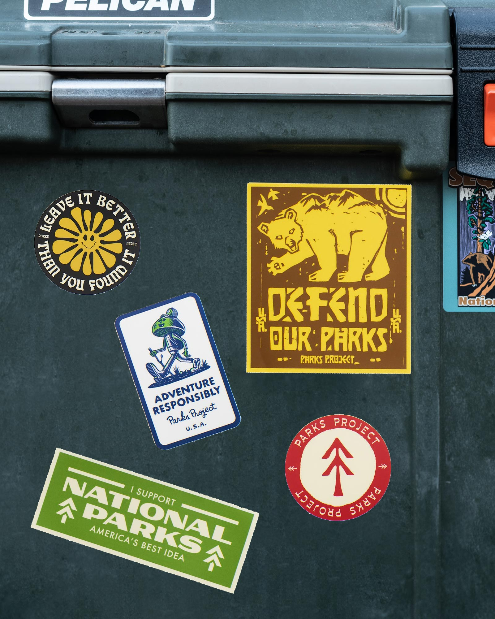 Parks Project Parks Adventurer Sticker Pack