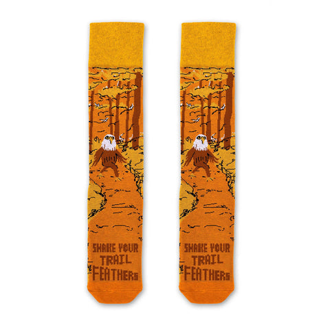 Parks Project Shake Your Trailfeathers Socks