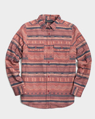 United By Blue Patterned Womens Responsible Flannel