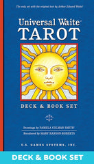 Universal Waite Tarot Deck/Book Set