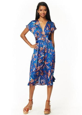 Lost + Wander Blue Moon Midi Dress