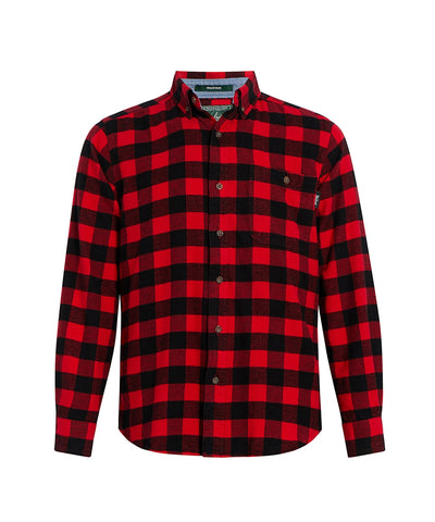 Woolrich Trout Run Red Buffalo Flannel
