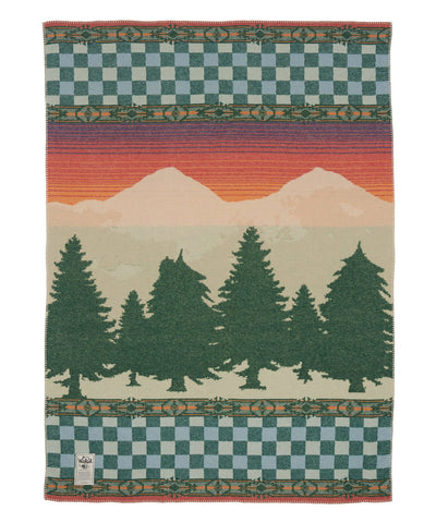 Woolrich Forest Ridge Jacquard Wool Blanket