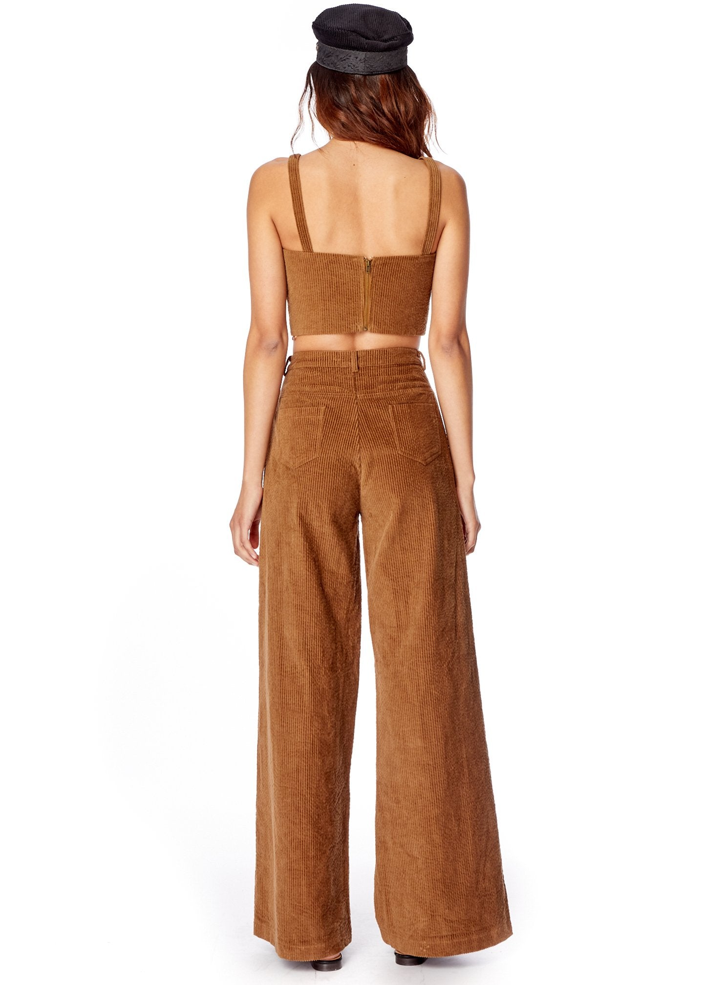 Lost + Wander Alicia Corduroy Flare Pants