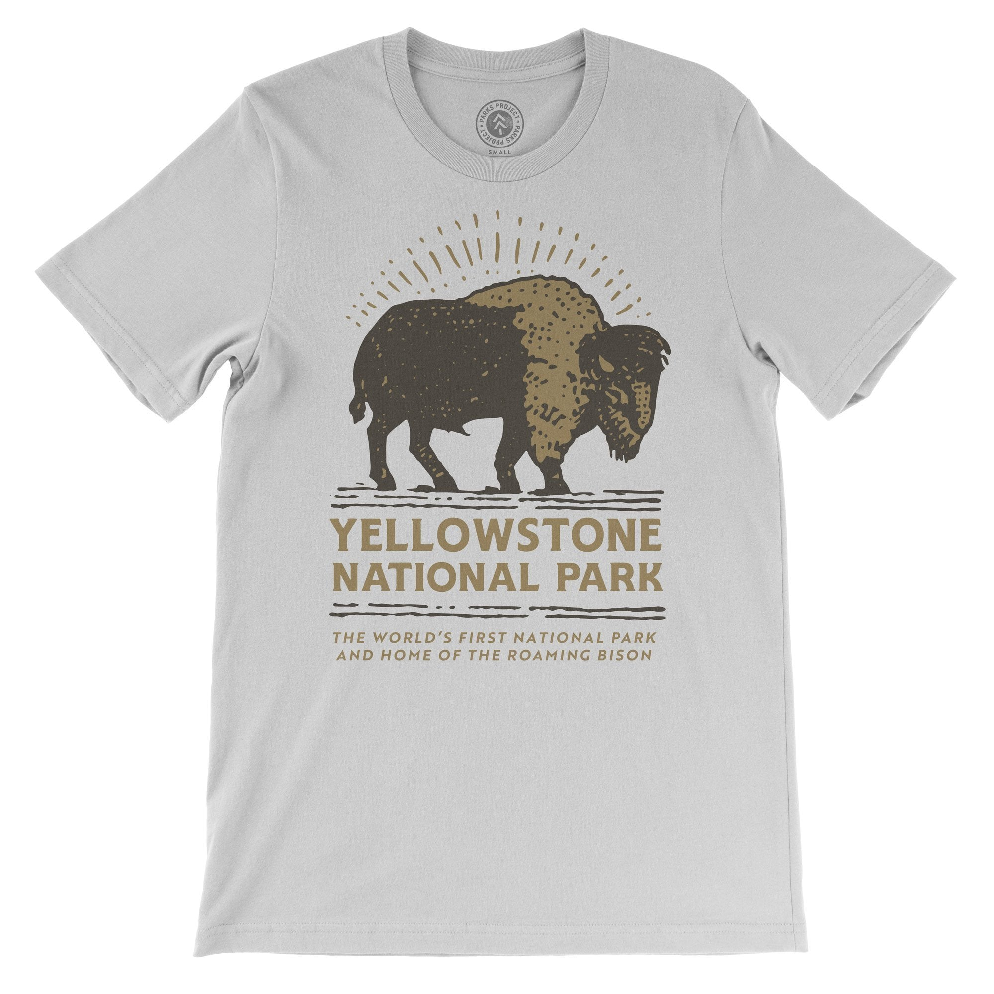 Parks Project Yellowstone Bison Buddy Tee