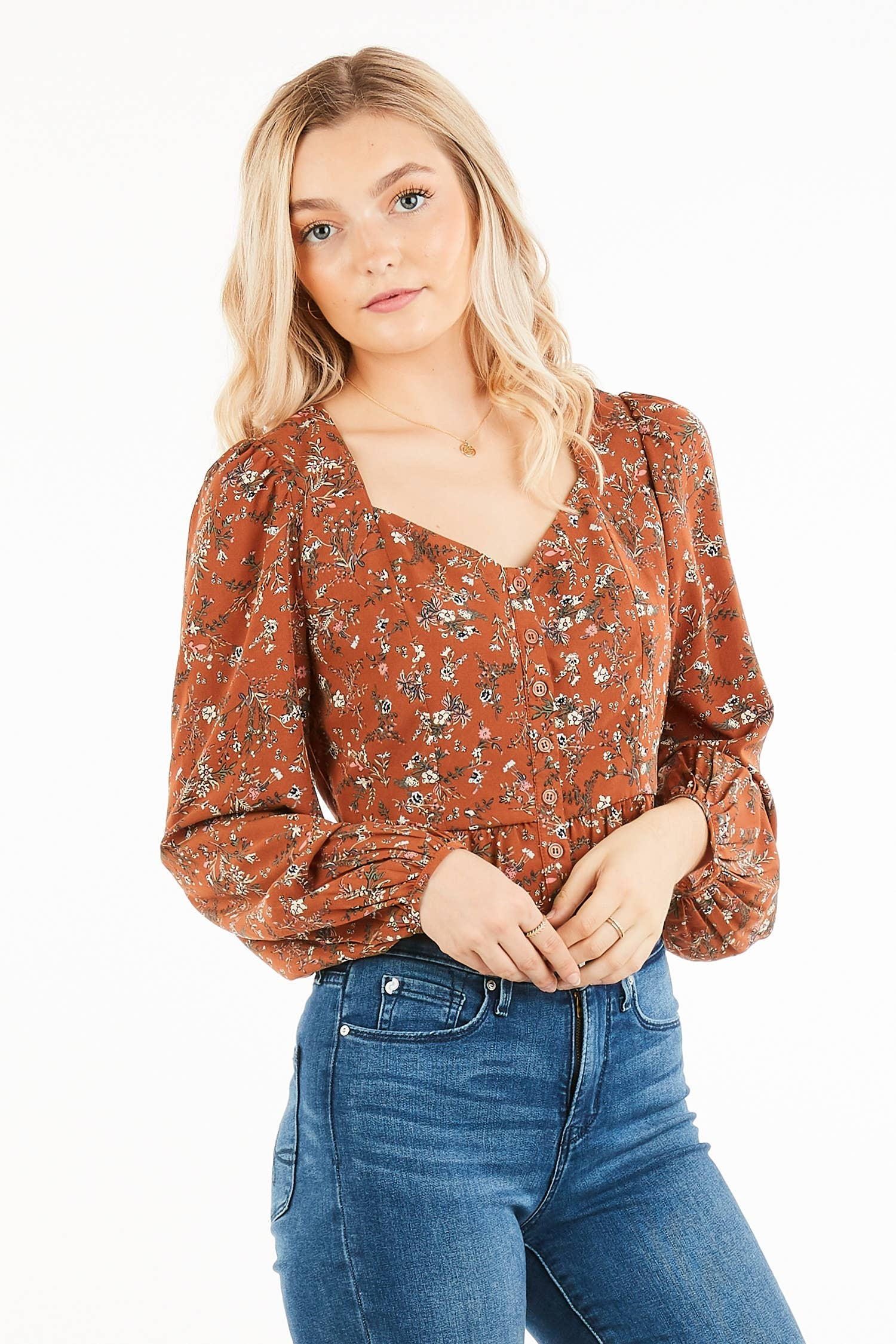 Loveriche Sweetheart Blouse