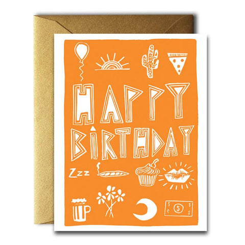 Birthday Stuff Card