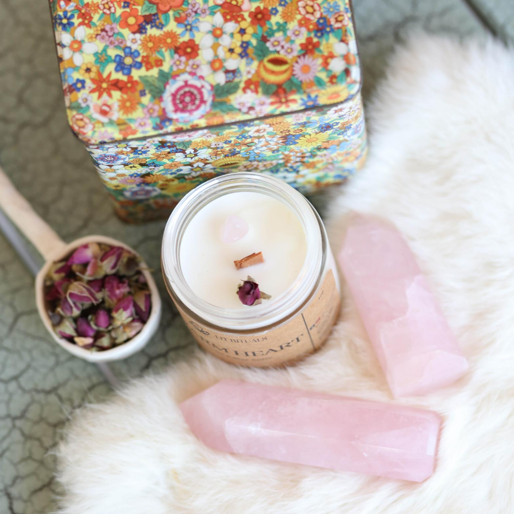 Warm Heart Ritual Soy Candle